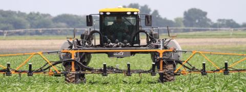 Project SENSE high-tech sensors operating in Corn