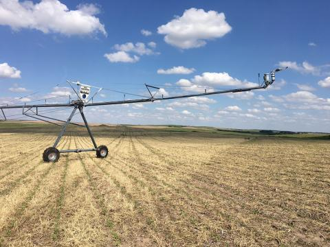 Irrigation center pivot