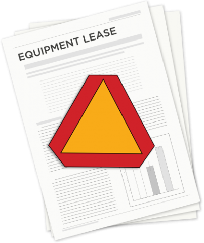 equipment lease graphic