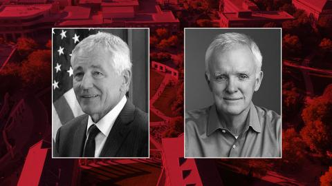 Chuck Hagel and Bob Kerrey