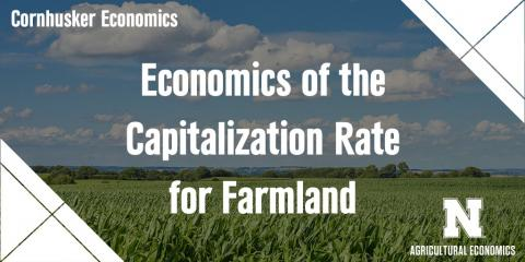 Economics of the Capitalization Rate for Farmland. Links to full article