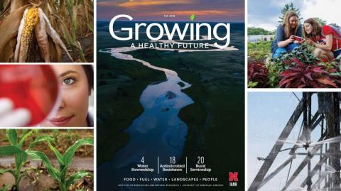 Cover of the UNL IANR Growing magazine