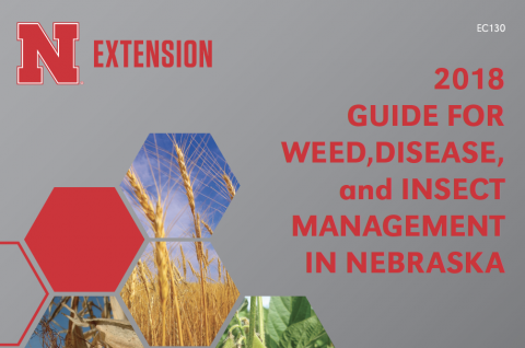 Cover 2018 Guide for Weed, Disease, and Insect Management in Nebraska
