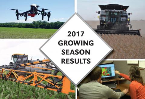 Cover of 2017 Nebraska On-Farm Research Results