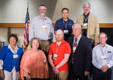 Nebraskans recently honored at the National Soil and Water Conservation Society meeting