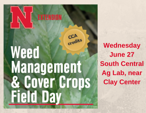 Weed Management and Cover Crops Field Day Flyer