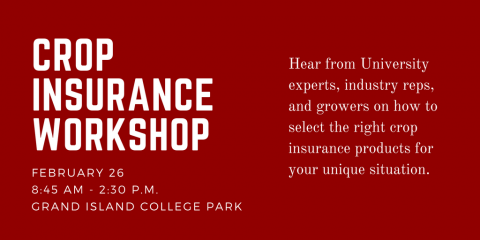 Crop Insurance Workshop