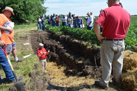 2018 Crop Management Diagnostic Clinic on Soils