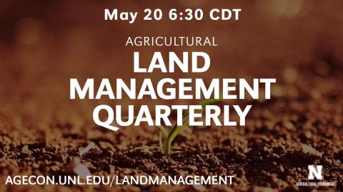 Land management quarterly. Links to full article