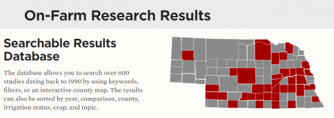 Figure 1. When making decisions for your farm, check out some of the on-farm research results from 2018 to see what other growers learned.