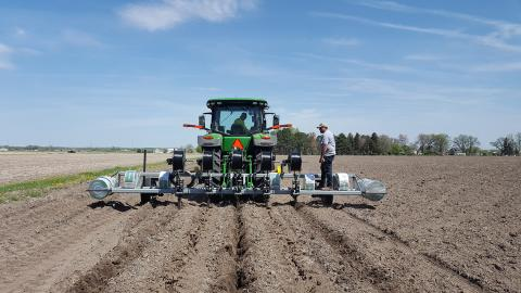 Eco-Drip of Hastings donated and installed a subsurface drip irrigation (SDI) system for a TAPS Farm Management Competition at the West Central Research and Extension Center in North Platte.