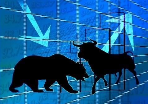 Image of iconic market forces, the bear and the bull.