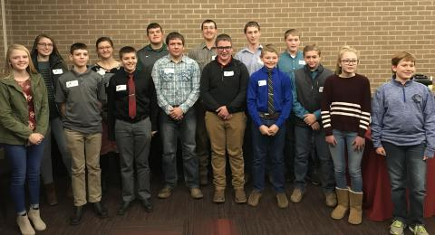 Innovative Youth Corn Challenge Banquet attendees