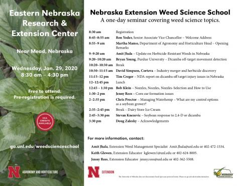 weed science school flyer