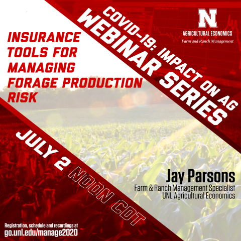 insurance tools for forage production webinar graphic