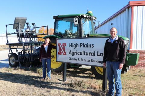 High Plains Ag Lab outdoor sign