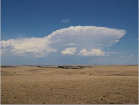 Thunderstorm in Nebraska Panhandle