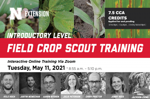 Field Crop Scout Training poster