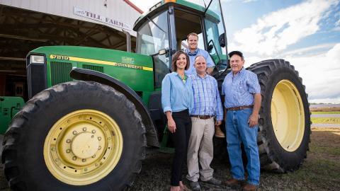 Family farm members