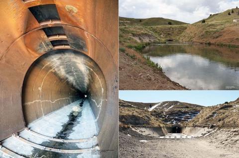 Goshen/Gering-Fort Laramie canal collage