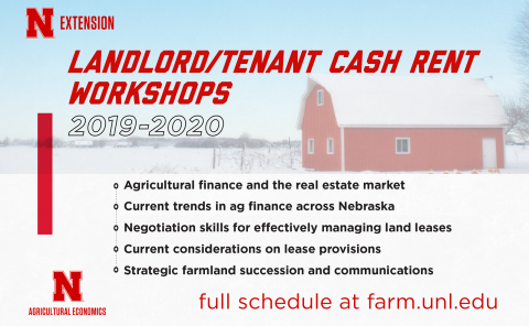 Farmland rent workshops graphic