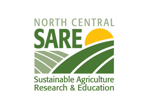Graphic identifying the North Central Region Sustainable Agriculture Research and Education program