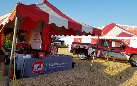 Husker Days booth