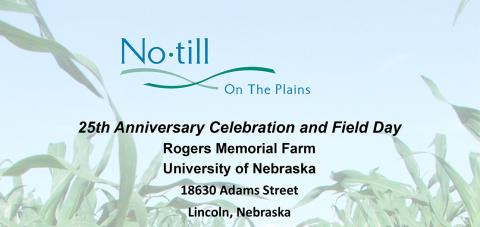 No-Till on the Plains field day poster