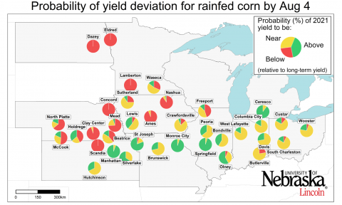 2021 corn yield potential map